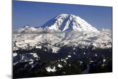 Mt Rainier North Face-Douglas Taylor-Mounted Photo