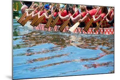 Dragon Boat- oceanfishing-Mounted Photographic Print
