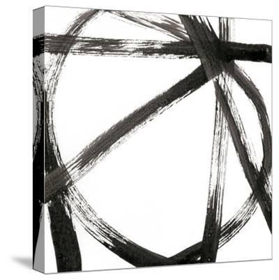 Linear Expression V-J^ Holland-Stretched Canvas Print