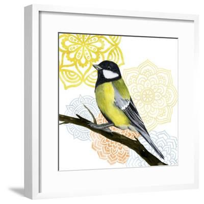 Mandala Bird III-Grace Popp-Framed Art Print