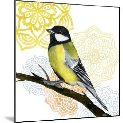 Mandala Bird III-Grace Popp-Mounted Art Print