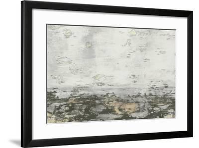 Neutral Horizon II-Jennifer Goldberger-Framed Art Print