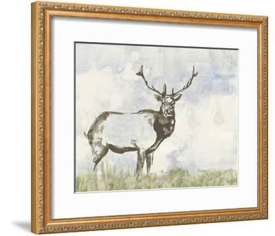 Wild Call II-Jennifer Goldberger-Framed Art Print