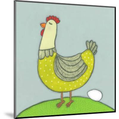 Super Animal - Hen-Tatijana Lawrence-Mounted Art Print