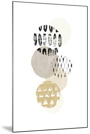 Circular Synergy III-June Vess-Mounted Art Print