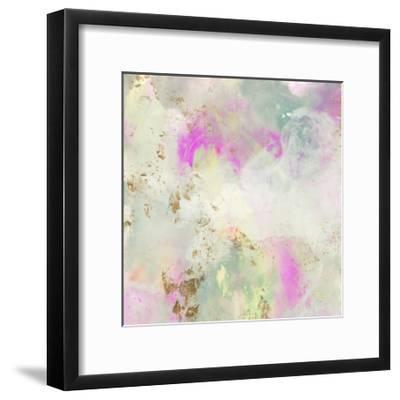 Pastel Swoop I-Jennifer Goldberger-Framed Art Print