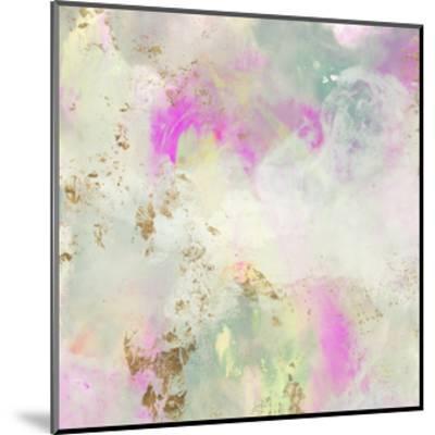 Pastel Swoop I-Jennifer Goldberger-Mounted Art Print