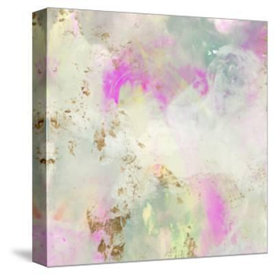 Pastel Swoop I-Jennifer Goldberger-Stretched Canvas Print
