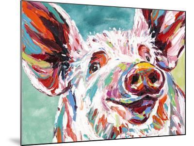 Piggy I-Carolee Vitaletti-Mounted Art Print