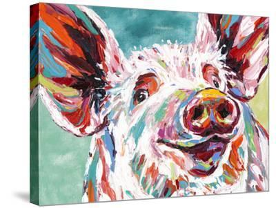 Piggy I-Carolee Vitaletti-Stretched Canvas Print