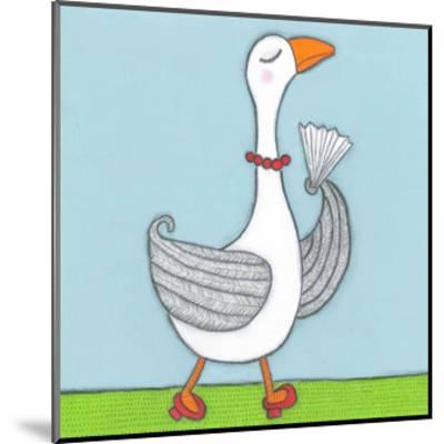 Super Animal - Goose-Tatijana Lawrence-Mounted Art Print