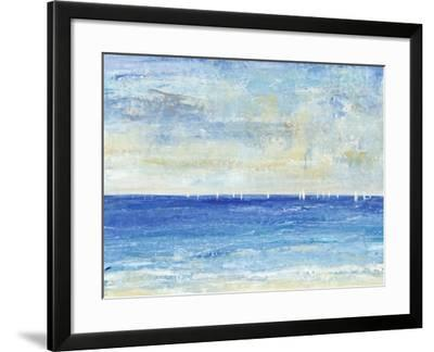 A Perfect Day to Sail I-Tim OToole-Framed Art Print