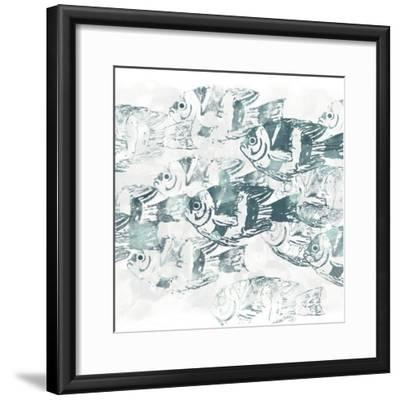 Sealife Batik III-June Vess-Framed Art Print