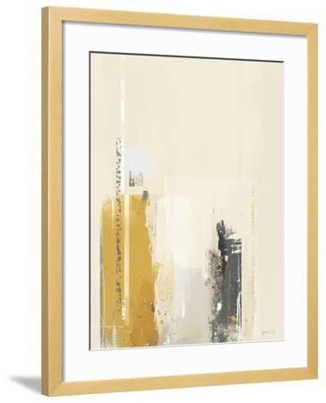 Deeper Shadows II-Green Lili-Framed Art Print