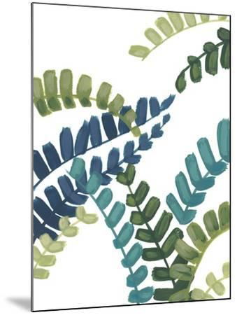 Tropical Thicket I-June Vess-Mounted Art Print