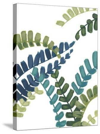 Tropical Thicket I-June Vess-Stretched Canvas Print