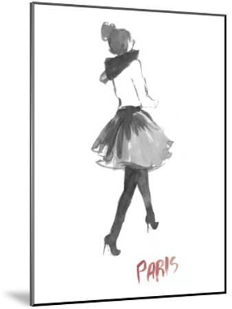 Fashion Week Sketch I-Naomi McCavitt-Mounted Art Print