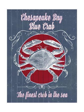 Seafood Co. I-Grace Popp-Framed Art Print