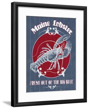 Seafood Co. II-Grace Popp-Framed Art Print