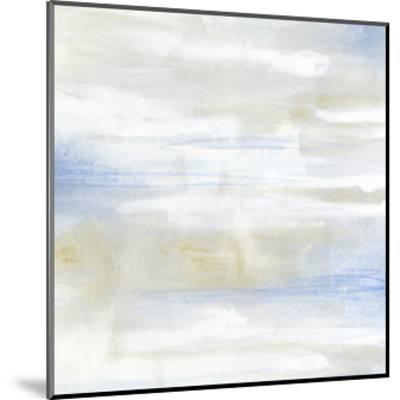 Shore Horizon I-June Vess-Mounted Art Print