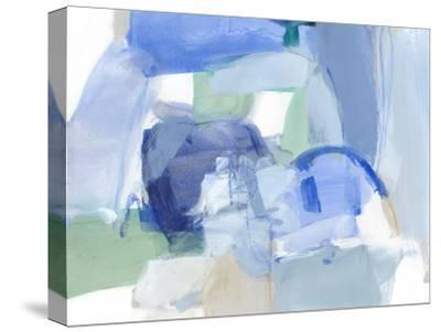 Blue Formation II-Christina Long-Stretched Canvas Print