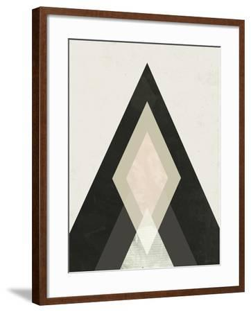 Mountains Beyond Mountains I-Green Lili-Framed Art Print