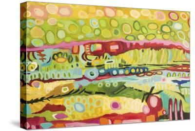 Abstract Bohemian-Karen  Fields-Stretched Canvas Print