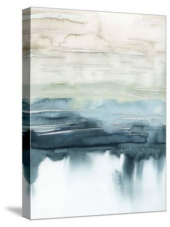 Organic Cascade I-Grace Popp-Stretched Canvas Print
