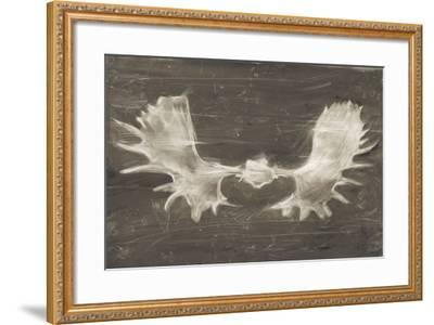 Rustic Moose Mount II-Ethan Harper-Framed Art Print