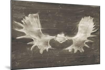 Rustic Moose Mount II-Ethan Harper-Mounted Art Print