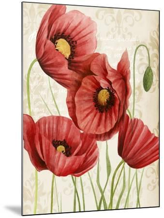Poised Poppy II-Grace Popp-Mounted Art Print