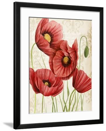 Poised Poppy II-Grace Popp-Framed Art Print