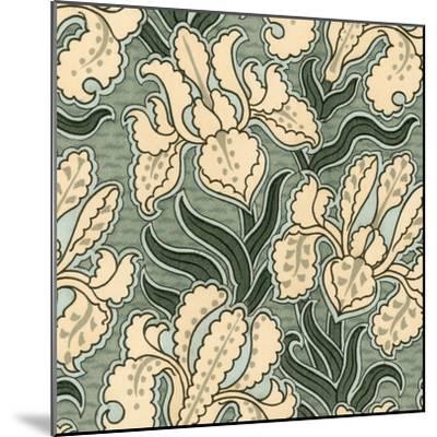 Nouveau Textile Motif II-Vision Studio-Mounted Art Print