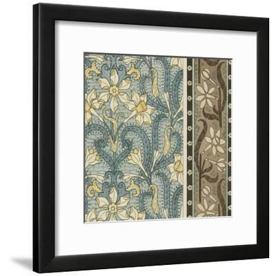 Nouveau Textile Motif III-Vision Studio-Framed Art Print