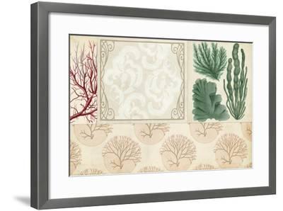 Coastal Patternbook II-Vision Studio-Framed Art Print