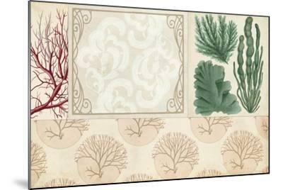 Coastal Patternbook II-Vision Studio-Mounted Art Print