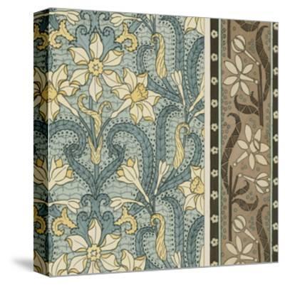 Nouveau Textile Motif III-Vision Studio-Stretched Canvas Print