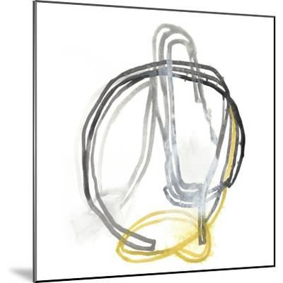 String Orbit IV-June Vess-Mounted Art Print