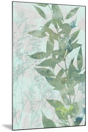 Watercolor Leaf Panel II-Jennifer Goldberger-Mounted Art Print