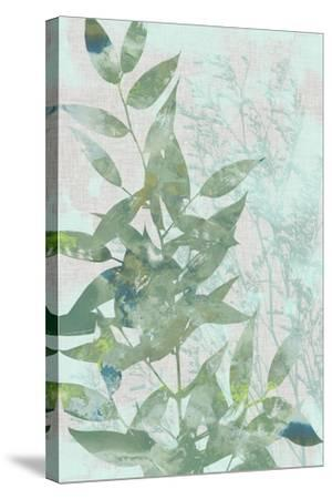Watercolor Leaf Panel I-Jennifer Goldberger-Stretched Canvas Print