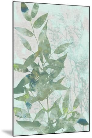 Watercolor Leaf Panel I-Jennifer Goldberger-Mounted Art Print
