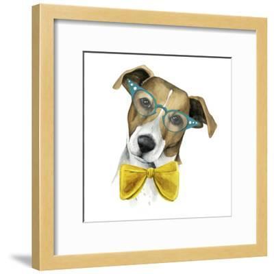 Vintage Pup II-Grace Popp-Framed Art Print