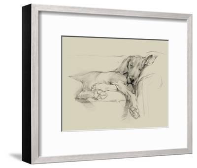 Dog Days I-Ethan Harper-Framed Art Print