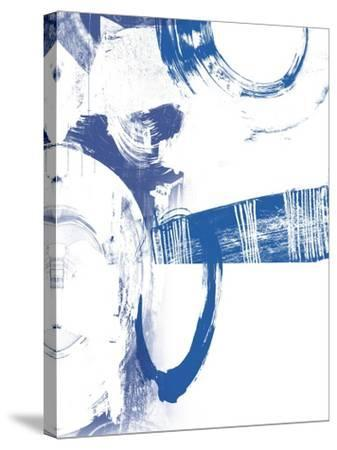 Blue Scribbles III-Vision Studio-Stretched Canvas Print