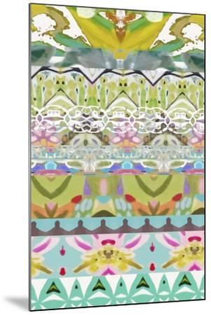 Border Boho I-Karen  Fields-Mounted Art Print