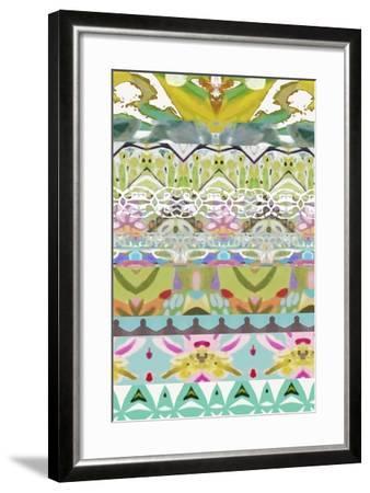 Border Boho I-Karen  Fields-Framed Art Print