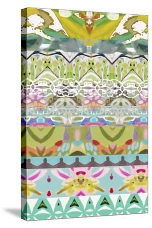 Border Boho I-Karen  Fields-Stretched Canvas Print
