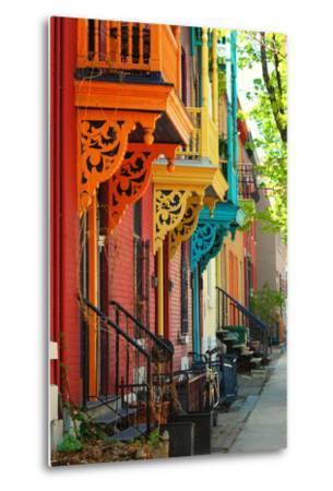 Old Architecture in Montreal-Brian Burton Arsenault-Metal Print