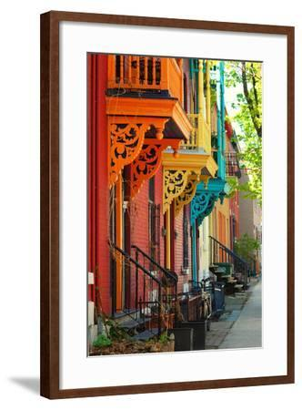 Old Architecture in Montreal-Brian Burton Arsenault-Framed Photographic Print