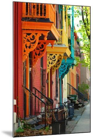Old Architecture in Montreal-Brian Burton Arsenault-Mounted Photographic Print